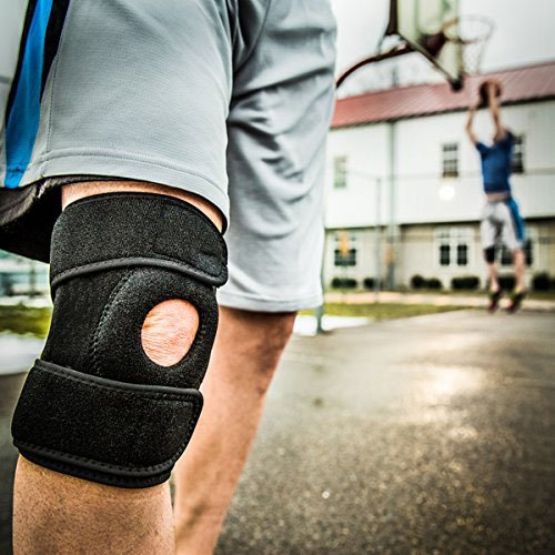 41iKUdemp5L poomoon Knee Compression Sleeve Support For Arthritis, ACL, Running, Basketball, Meniscus Tear, Sports, Athletic