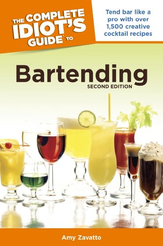 Amazon Com The Complete Idiot S Guide To Bartending 2nd Edition