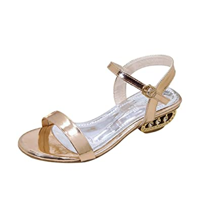 eea3aa8f6c1513 Lolittas Women Ladies Sandals Summer Sliver Gold Sandals