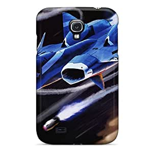 Premium JXc486xLpm Case With Scratch-resistant/ Vf1 Valkyrie Fighter Case Cover For Galaxy S4