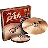 Paiste 068ES14 PST5 Cymbal Set - 14 Inch Hi Hats and 18 Crash Ride