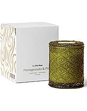 Duża świeca zapachowa, aromaterapia, naturalny wosk sojowy świeca cynowa