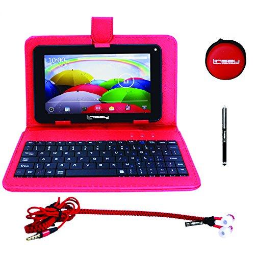 LINSAY NEW F7XHDBKR Quad Core Tablet