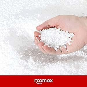 ROOMOX JUNIOR Original relleno, tela, blanco, Single