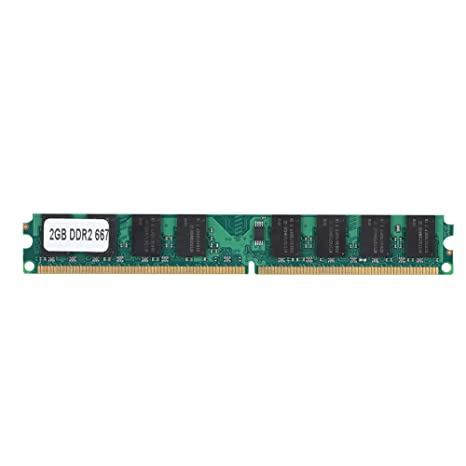 PC2-5300 Memoria RAM, DDR2 2G 667 MHz Tarjeta de Módulo de ...