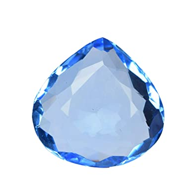0e9f9decb7a7c Amazon.com: REAL-GEMS Beautiful Blue Topaz 108.00 Ct. Perfect Pear ...