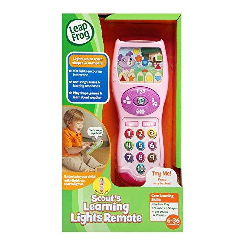 51CXiSrse4L - LeapFrog Violet's Learning Lights Remote, Pink
