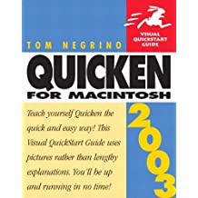 Quicken 2003 for Macintosh: Visual QuickStart Guide
