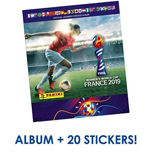 2019 Panini Women's World Cup Stickers - Starter Pack (Album + 26 Stickers)]()