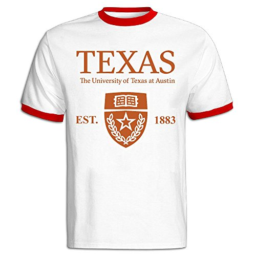 QTHOO Men's O Neck University of Texas at