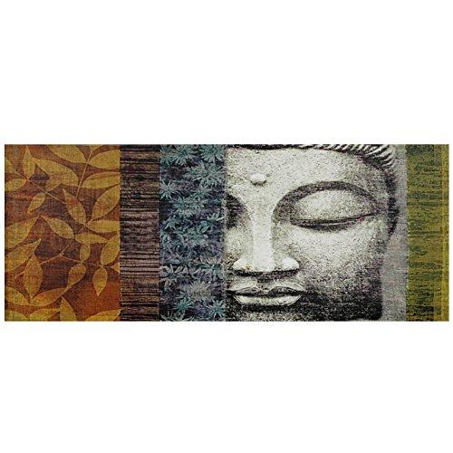 Oriental Furniture Buddha Statue Canvas Wall Art