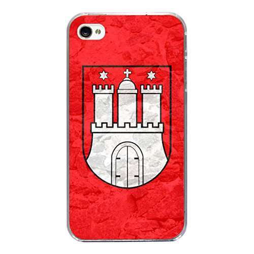 "Disagu Design Case Schutzhülle für Apple iPhone 4s Hülle Cover - Motiv ""Hamburg"""