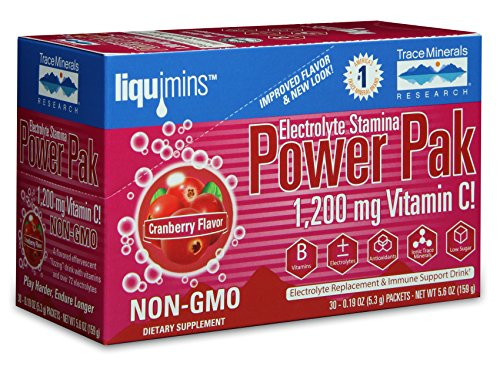 Trace Minerals Research Electrolyte Stamina Power Pak, Cranberry, 30 Count For Sale