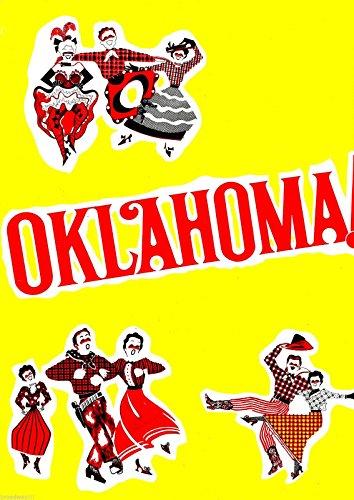 "Rodgers & Hammerstein""OKLAHOMA!"" Bruce Yarnell/Margaret Hamilton/Lee Roy Reams 1969 Souvenir Program"