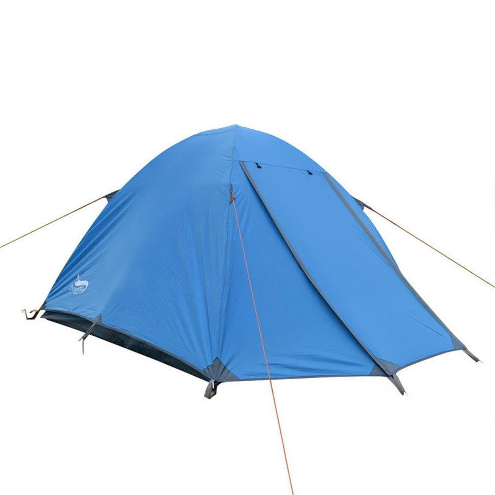 3-4人物頑丈なテントダブルデッキアルミニウムロッドバックパックテント/組み立てが必要キャンプ用のハイキング用超軽量防水 B07C1JNSJ6 B07C1JNSJ6, どっとカエールコレクト:4c907800 --- ijpba.info