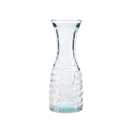 AGRICOLA Recycled Glass Decanter W Print DIA9.5X25CM Cucina ...