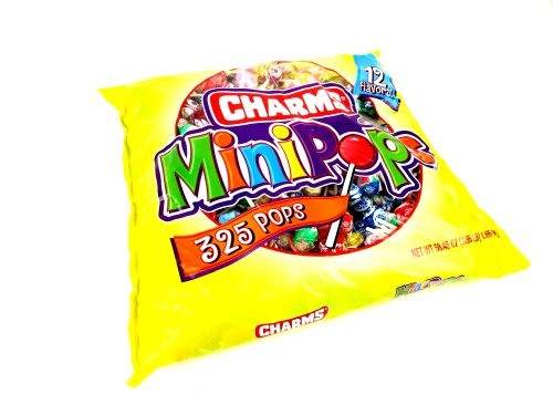 Charms Mini Assorted Pops, 325 Pops Included (Charms Mini Pops)