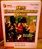 Stacey's Choice, Ann M. Martin, 0590456598