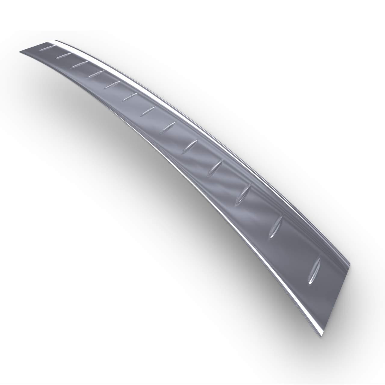 Protezione paraurti auto in acciaio lucido 5902538653312 argento