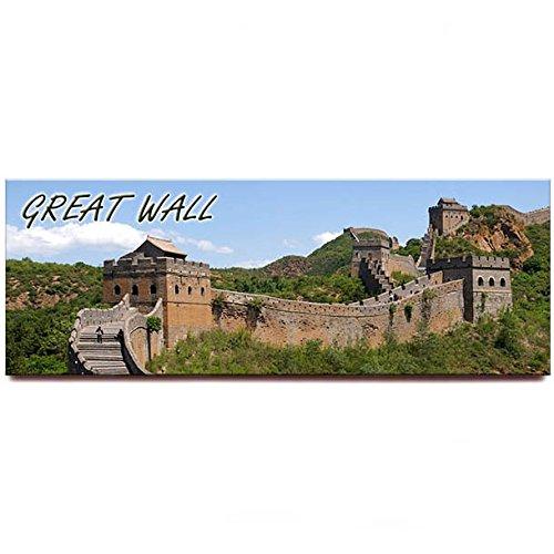 Great Wall panoramic fridge magnet China travel souvenir