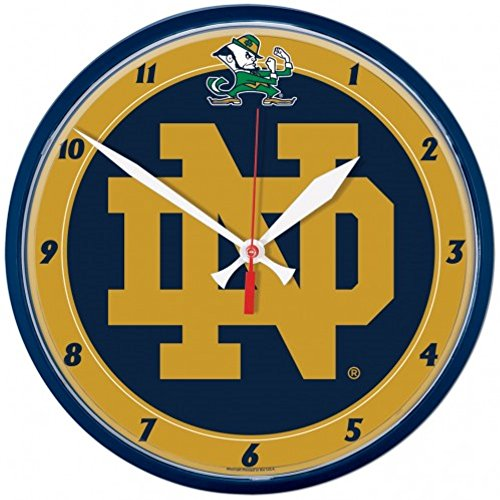 Wincraft Clock - NCAA Notre Dame Fighting Irish WinCraft Official Round Clock