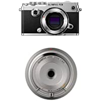 Olympus PEN-F Body with Olympus BCL-15 Lens (Silver)