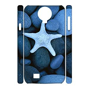 VNCASE Starfish Phone Case For Samsung Galaxy S4 i9500 [Pattern-1]