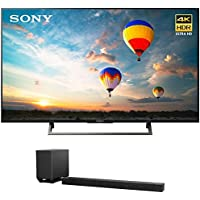 Sony XBR-55X800E 55-inch 4K HDR Ultra HD Smart LED TV (2017 Model) w/ Sony HT-ST5000 7.1.2ch 800W Dolby Atmos Sound Bar