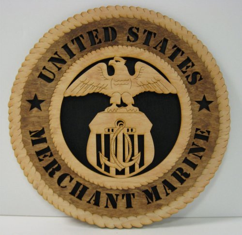 Military Award Plaques (Merchant Marine Military Tribute)