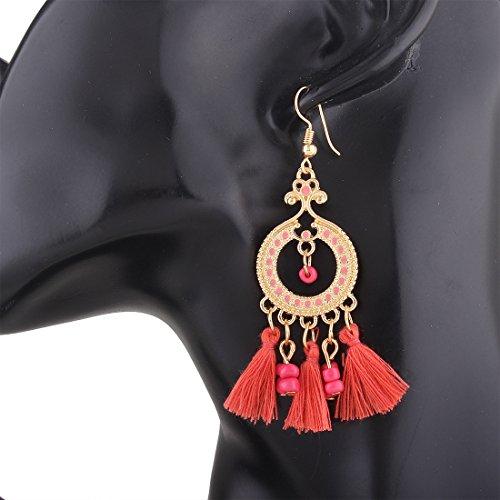RENYZ.ZKHN Bohemia Tassel Earrings, Tassel Earrings, Long Earrings Fashion Women