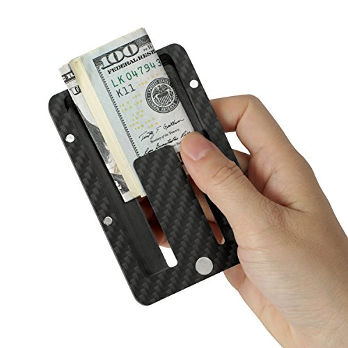 Card PITAKA Wallet Magwallet Money Matte Twill Finish RFID Holder Carbon Minimalist Blocking Clip Modular Slim Fiber TTqYwr