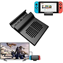 AKNES Nintendo Switch Dock, Portable Dock for Nintendo Switch, Replacement Dock With Electronic Chip for Nintendo Switch, Charging Station for Nintendo Switch