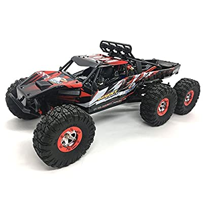 RC Cars Feiyue 1/12 Scale Electric 6WD RTR Off Road RC Car Rock Crawler