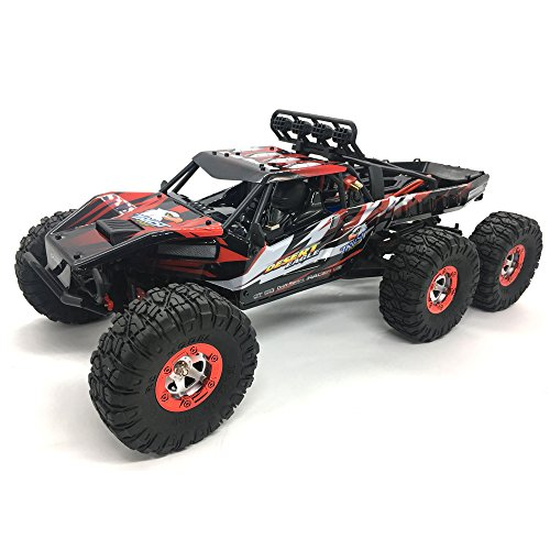 Tecesy Remote Control Car 1/12 2.4Ghz 6WD Electric Brushless Off-Road Vehicle Upgrade Crawler Truck RTR