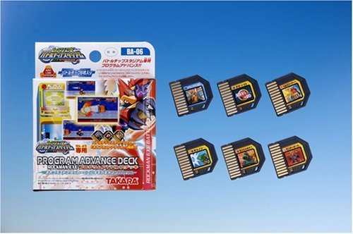 Japan Import Megaman Battle Network Rockman EXE Beast program Advance deck 6 Neo blast attacker (6 Man Network Battle Mega)