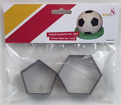 dekofee - Moldes para Galletas (15 cm), diseño de balón de fútbol ...