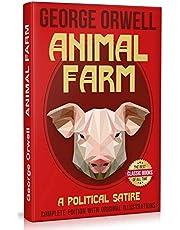 Animal Farm. Complete Edition with Original Illustrations: A Political Satire