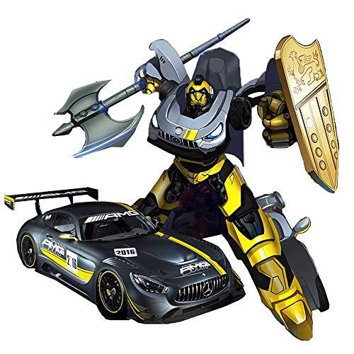 RSラジコンカー 変形ロボット メルセデスAMG GT3 変形ラジコンカー ドリフト 変形 ワンタッチ変形 ロボット おもちゃ 車 自動車 チェンジングカー トランスフォーマー トランスフォーム TRANSFORMER ロボから車に変形 クリスマス 誕生日 プレゼント 男の子 おすすめ 正規品
