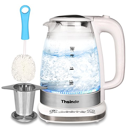 Double Wall Electric Kettle 1.7L ,Adjustable Temperature Con