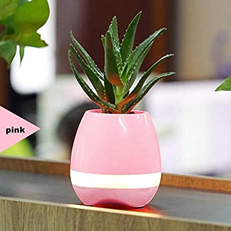 Amazon Music Vase Smart Wireless Bluetooth Music Speaker Potted