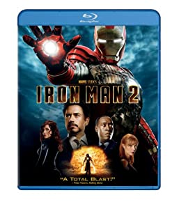 Cover Image for 'Iron Man 2 (Single-Disc Edition)'