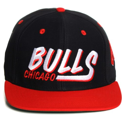 NBA Chicago Bulls Flat Bill Vintage Limited Edition Snapback Hat Cap