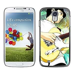 LECELL -- Funda protectora / Cubierta / Piel For Samsung Galaxy S4 I9500 -- Guitar --