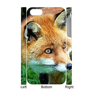 3D Bumper Plastic Case Of Fox customized case For iPhone 6 4.7