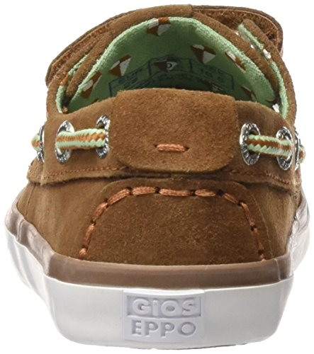 Gioseppo Estoril, Mocasines con Velcro Niños Marrón (Beige)