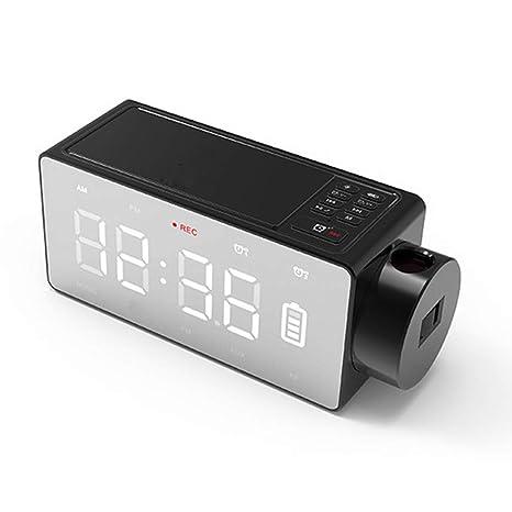 LHY FAN Radio Reloj Despertador Digital,Despertador Altavoz ...