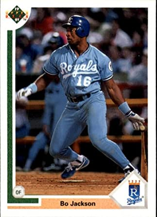 1991 Upper Deck Baseball Card 545 Bo Jackson Mint