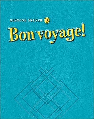 Télécharger en ligne Bon Voyage!: Glencoe French 1a : Writing Activities Workbook pdf
