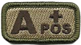blood type patch a pos - Tactical Blood Type Patches -