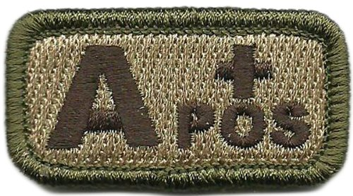 Tactical Blood Type Patches - …